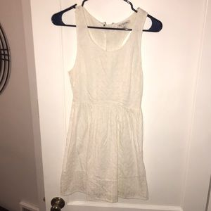 American Eagle Outfitters White Sun Dress